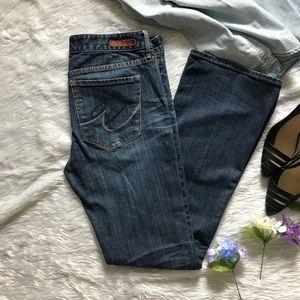 Express Low Rise Boot Cut Denim Jeans ‼️